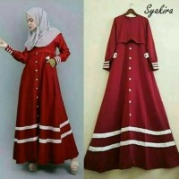 gamis Syakira / Dress Baloteli Premium Abaya muslim syarii