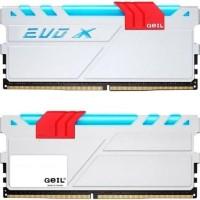 Jual GEIL DDR4 EVO X RGB LED PC24000 Dual Channel 16GB (2x8GB) 15-17-17-35 Murah