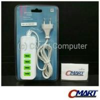 Jual Charger Multifungsi Multi 4 Port USB For Phone/tablet - GRC-AD-RNAi802 Murah
