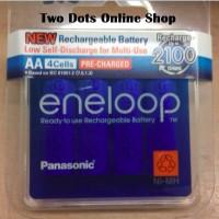 Jual Baterai Batre Panasonic Eneloop 4AA / AA Recharge Rechargable 2000 MAh Murah