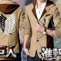 Jual Blazer Shingeki No Kyojin Blazer Attack On Titan jaket Attack On Titan Murah