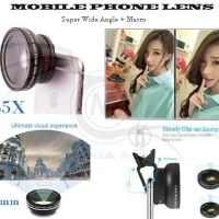 Jual Phone Lens Super Wide Angle - Macro 0.45x Limited Murah