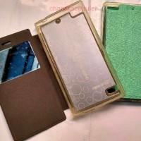 Jual Promo Ume Flip Case BlackBerry BB Z3 Leather Custom Case Murah