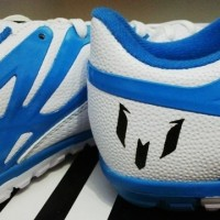 a04770d314e (Sale) Adidas Messi 15.1 White  Sepatu Futsal   Replika Import