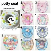 Jual Soft Baby Potty Seat / Alas Dudukan Kloset Paling Laku  Murah