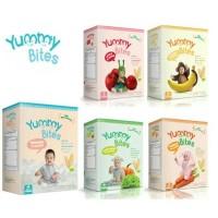 Jual Yummy Bites Rice Crackers / Biskuit Bayi 6m  Paling Laku  Murah