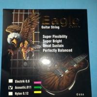 Jual (Sale) Senar gitar Akustik EAGLE ORIGINAL Murah