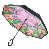 Jual Payung Terbalik NEW My Little Pony PINK Anak Reverse Inverted Umbrella Murah