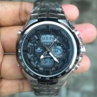 Jual Edifice EFA 150 Chrome Ring Black Index Black Kw Super Berkualitas Murah