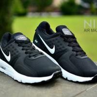 Sepatu Sneakers Runing Branded Pria Sporty - NIKE ZERO - Black