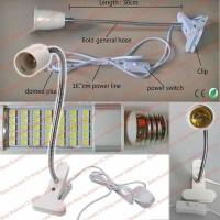 Jual Lampu Meja Servis Reparasi Jepit Clamp Flex Repair Desk Light 35 Led Murah