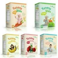 Jual (Sale) Yummy Bites Rice Crackers / Biskuit Bayi 6m+ Murah