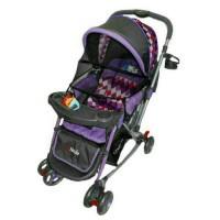 Jual (Dijamin) Stroller Pliko Grande With 4in1 Features Kereta Dorong Bayi Murah