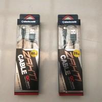 Jual (Dijamin) Kabel Delcell Zaxti QC Quick Charge 3.0 Panjang 20cm Murah