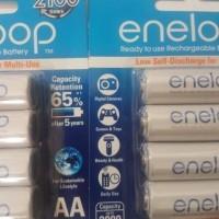 Jual baterai recargeable ENELOOP PANASONIC ORIGINAL TIPE AA BATERAI REFILL Murah