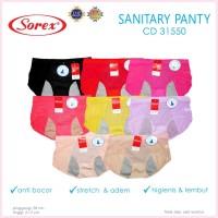 Jual CD SOREX 31550 (sanitary panty/ celana haid) Berkualitas Murah