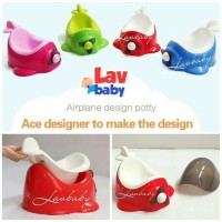 Jual (Diskon) QC Baby Potty Seat Plane potty train Murah