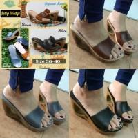 Jual (Dijamin) Jelly Shoes Selop Kayu Murah