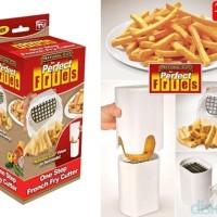 Jual kualitas bagus Perfect Fries Potato Cutter / Pemotong Kentang Murah