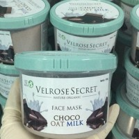 Jual VELROSE SECRET - FACE MASK CHOCO OAT MILK - MASKER / LULUR WAJAH Murah