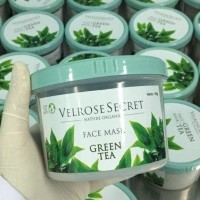 Jual limited VELROSE SECRET - FACE MASK GREEN TEA - MASKER / LULUR WAJAH Murah