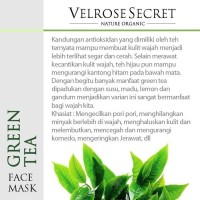 Jual special Nature Organic - Lulur Wajah Green Tea 250gr Murah