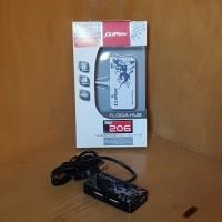 Jual (Sale) Cliptec RZH206 USB Hub 4 Port Flora Hub RZH-206 Murah