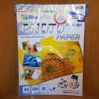 Jual Blueprint BP-GPA4230 Photo Paper - A4 Bunga Matahari 20 Sheet - 230 GS Murah