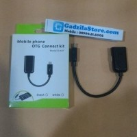 Jual KABEL OTG Micro USB to USB Female Android Samsung Asus dll (GROSIR) Murah