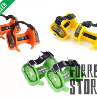 Jual Flash Flashing Roller Skate Khusus Kuning / Hijau / Orange Berkualitas Murah