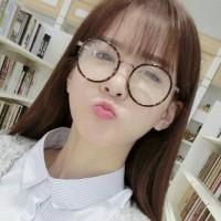 Jual (Dijamin) kacamata wanita bulat korea round glasses kc 76 leopard Murah