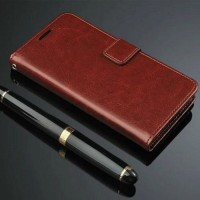 Jual (Murah) Wallet Case Leather Case Sony Xperia M2 Murah