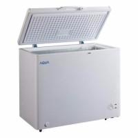 Aqua Sanyo AQF 200 Chest Freezer 197 Liter Khusus JABODETABEK