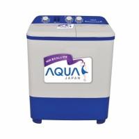 Aqua Sanyo QW 871XT Mesin Cuci Twin Tub 8Kg Khusus JABODETABEK