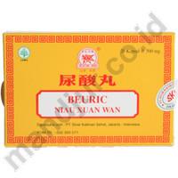 Jual Beuric (Niau Xuan Wan) Strip Isi 20 - Untuk asam urat dan kolesterol Murah