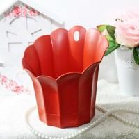 Jual pot tempel vas bunga plastik gantung  / hanging hanger vas flower Murah