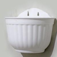 Jual pot tempel vas bunga plastik gantung  / hanging hanger vas flower 2 Murah