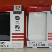 Jual TOSHIBA CANVIO BASIC 1TB USB 3.0 EXTERNAL HDD / 1 TB FREE SOFTCASE Murah