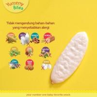 Jual (Sale) Yummy Bites APPLE Snack Krekers Beras Bayi Rasa Apel Murah