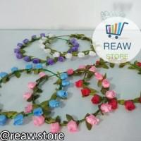 Jual (Diskon) Mahkota Bunga Aneka Warna / Flower Crown Murah
