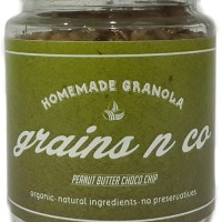 Jual (Diskon) Grains N'co HomeMade Granola (Peanut Butter Choco Chip) Murah