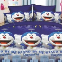 Jual Sprei 2 in 1 Fata Signature Uk.120 X 200 Motif Doraemon Stand By Me Murah