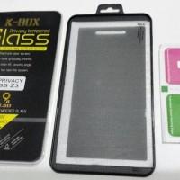 Jual Tempered Glass Anti SPY BB Z3 / Z10 Blackberry Antigores Kaca Hitam Murah
