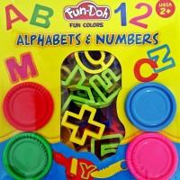 Jual (Dijamin) Mainan Anak Fun-Doh Alphabets & Numbers Murah