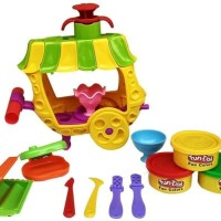 Jual (Diskon) Mainan Fun Doh Anak Fun-Doh Sundae Cart Es Krim Play Doh Murah