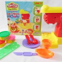 Jual (Dijamin) Mainan Fun Doh Anak Fun-Doh Ice Cream Factory Play Doh Murah