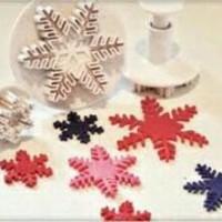 Jual Cetakan fondant Cetakan bento Cetakan Snowflakes Cookies Cutter Murah