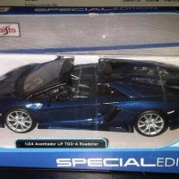 Jual Miniatur Mobil Lamborghini Aventador LP700 4 Roadster Maisto 1 24 Murah