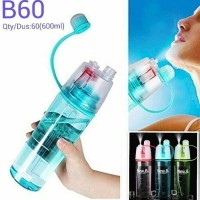 Jual BOTOL SPORT NANO SPRAY / SPRAY WATER BOTTLE 600ML Berkualitas Murah