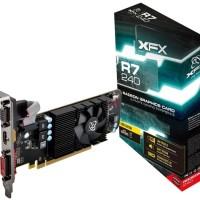 special VGA XFX Radeon R7 240 2GB DDR3 Core Edition - R7-240A-CLF2